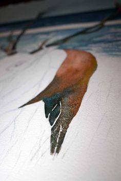 Step 7 – erste Farben für dem Hirsch (c) FRank Koebsch