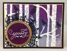 Wednesday, September 23, 2015 I did this card for the sketch challenge at the Paper Craft Crew. This week we had a Bingo Challenge: My BINGO is diagonal and I went with using Purple, Embossed and Gold. I decided to...