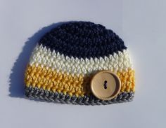 Newborn Hat for Boys Crochet Baby Boy Hat Knit Photo by zxcvvcxz, $12.95