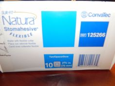 ConvaTec Surfit Natura Stomahesive Flexible  125266 (70mm) #Convatec