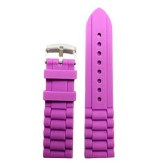 WWWB07624mm Purple Color Silicone Jelly Band Straps Ladies Men * Learn more by visiting the image link.