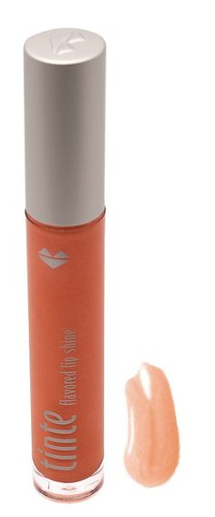TINte Cosmetics Peachie Sheen a Peach Flavored lip gloss.Enriched with shea butter, best lip gloss for chapped lips. Coral Lips, Orange Lips, Flavored Lip Gloss, Best Lip Gloss, Lip Shine, Chapped Lips, Shea Butter, Lip Balm, Makeup Tips