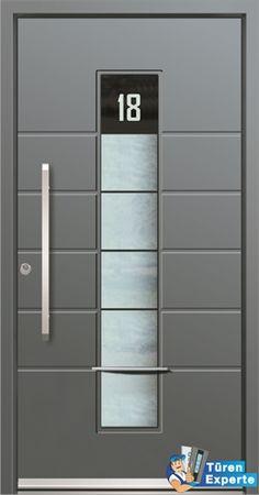 Haustüre AGE 1110 mit Glas