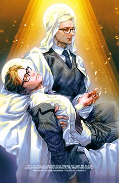 - Pieta - (Kingsman: The Secret Service - Harry Hart[Galahad], Merlin)