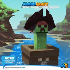 Vote #AdoboCraft - Number 1 Minecraft Server in the Philippines! www.adobocraft.net/vote  Vote & Win In-Game Prizes!