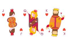 The Siobhán Gallagher 'All Decked Out' Cards are Quirky and Edgy #british #royalty trendhunter.com