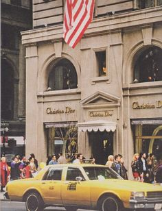 The first Christian Dior store in the US - New York, 1949.