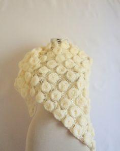 Modelknitting design shawl Bride RosePatterned by modelknitting, $134.90