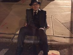 we told harold to sit on the sidewalk and he fucking did it what an absolute madman Harold Finch, John Reese, Amy Acker, Mr Robot, Jim Caviezel, Person Of Interest, This Man, Mad Men, Emerson