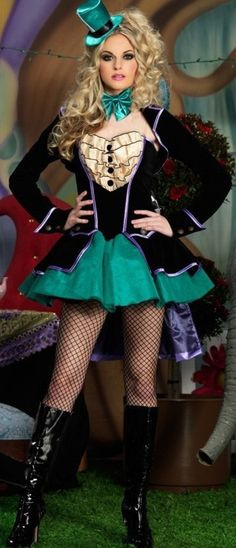 Mad Hatter Costumes for Women | mad hatter costume ideas