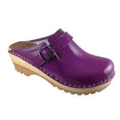 Fab.com   Raphael Clog Purple Patent