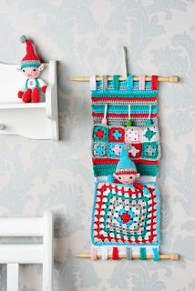 Gorgeous hanging organiser on Ravelry - ༺✿ƬⱤღ✿༻