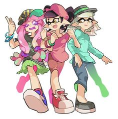 Read agente 3 x agente 8 pelea territorial from the story splatoon imagenes yaoi by YumaFrancoise (Yuma Francoise) with reads. Splatoon 2 Game, Nintendo Splatoon, Splatoon Comics, Wii U, Character Concept, Character Design, Splatoon Squid Sisters, Callie And Marie, Pokemon