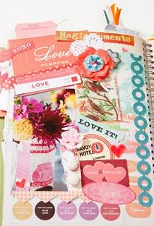 How to create a smash book--like a scrapbook; each page has a subject (where  you want to go, favorite colors) make a collage about that subject. Cut out postcards, magazines, pictures, stickers, details, etc.