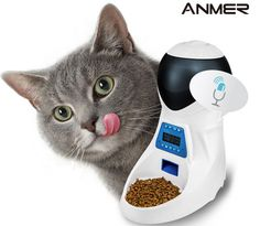 ANMER Automatic Pet Feeder with Voice Reminder