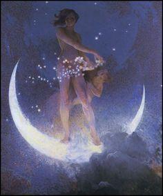 Edwin Blashfield — Sprinkling Moondust on the Universe — 1927