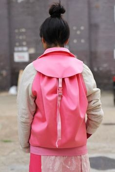 backpack jacket KC - great idea for travel with minimal luggage.