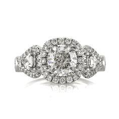 3.05ct Cushion Cut Diamond Engagement Anniversary by MarkBroumand