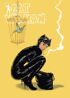Catwoman by Dave Seguin *