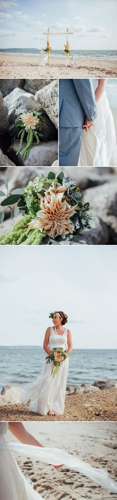 Beach Wedding Inspiration by Charlotte Bryer-Ash Photography | Style Focused Wedding Venue Directory | Coco Wedding Venues