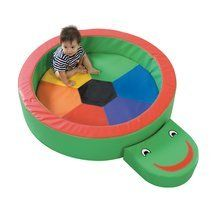 """Children's Factory Turtle Hollow Nesting Circle by Children's Factory. $379.19. """"PLEASE ALLOW UP TO THREE WEEKS BEFORE SHIPPING, AS CHILDRENS FACTORY FOAM BLOCKS AND EDUCATIONAL TOYS ARE MADE-TO-ORDER. The Children's Factory Turtle Hollow Nesting Circle has a smiling face that provides the perfect size seat or step into soft play. Soft nesting center for 6 months old thru 3s. 44"""""""" diameter. 9.5""""""""h. With a 3"""""""" thick reversible cushion. 5""""""""h x 15""""""""l The Children's Factory Tu..."""