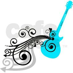 Guitar Decals | Acoustic Guitar Decal by mlca