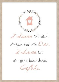 artissimo Spruch-Bild gerahmt 51x71cm Poster Kunstdruck Wandbild Bild mit Spruch | Möbel & Wohnen, Dekoration, Bilder & Drucke | eBay!