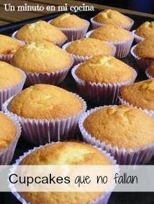 Un minuto en mi cocina: Cupcakes que no fallan