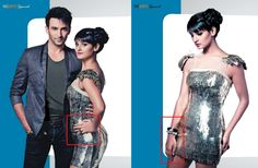 Pinky Saraf's cocktail ring & bracelet worn by Shakti Mohan for the Party Special Issue in StyleSpeak - The Salon & Spa Journal, Dec'12