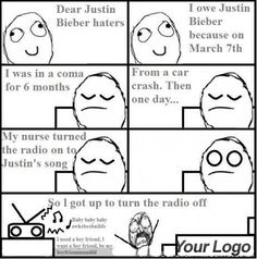 This doesn't have to do with but when my BFF sent it to me I laughed my ass off Justin Beiber Memes, Justin Bieber, Funny Picture Jokes, Funny Pictures, Rage Comics, Good Humor, One Direction Pictures, Troll, I Laughed