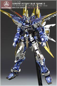 Gundam Astray Blue Frame D modeled by KFc_uncle | Gundam Century