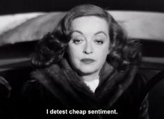 Margo Channing; played by Bette Davis (All About Eve, 1950)
