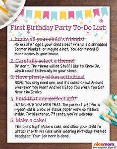 5 things you can avoid at your kids first birthday