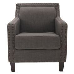 gray...and that nailhead trimming