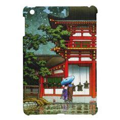 SOLD! $44.95 Cool #Kasuga #Shrine #Nara #Hasui #Kawase shin #hanga #iPad #Mini #Covers