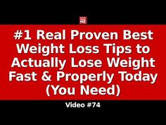 Top 5* Real Proven Ways to Actually Lose Weight at Home Properly Today (Remedies You Need) - YouTube