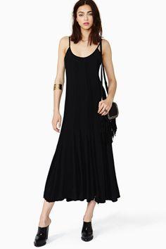 Midnight Stripe Maxi Dress by Nasty Gal