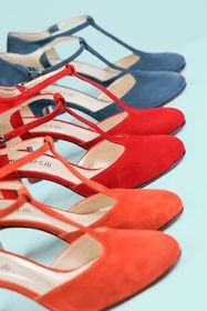 Palette de couleurs en chaussures par Antoine et Lili
