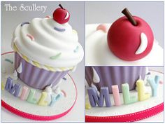 Giant Cupcake   by The Scullery (Louise)
