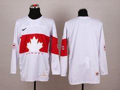 Canada White 2014 Winter Olympics jerseys
