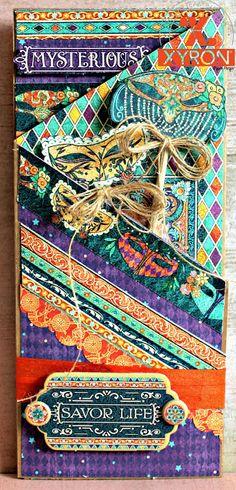Scrapbook Flair: Pam Bray Designs: Midnight Masquerade Party Invitaion wiht Xyron and Swingline