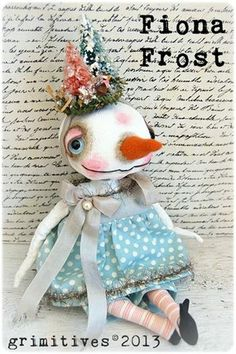 Fiona Frost - by doll artist Kaf Grimm of GRIMITIVES