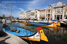 Ciudad-dormida: Aveiro, un paisaje de salinas, barcos moliceiros, ovos moles y art decó (I). Aveiro, Region Centro, Beira Litoral, Portugal