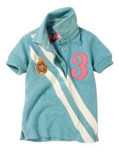 Girls polo shirt via Joules