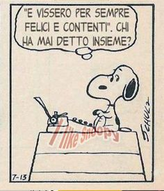 I like Snoopy
