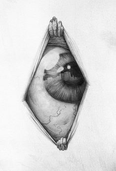 Résultats de recherche d'images pour « drawings of creepy eyes Scary Drawings, Dark Art Drawings, Pencil Art Drawings, Art Drawings Sketches, Eye Drawings, Drawing Art, Scary Art, Weird Art, Surealism Art