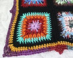🌞 👧 🌞 Crochetar Afegão da Avó Quadrado Raios Fonte de Luz por uma Família Criativa -  /  🌞 👧 🌞 Granny's Ray Light Source.Crocheted Afghan Square by One Creative Family -