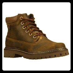 Cute Chestnut Boots Big Bolt Authentics