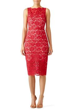 Red Anna Dress by nha khanh for $69 - $95 | Rent the Runway