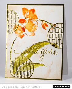 Featuring Penny Black's new Creative Dies and stamps: Download complete supplies and instructions on our blog.